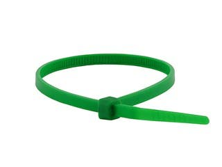 Product Image for Cable Tie 4in 18 lbs, 100 pcs/pack, Green