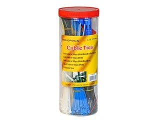 Product Image for Cable Tie Set, 1000pcs/Pack - Various Color with Cutting Tool
