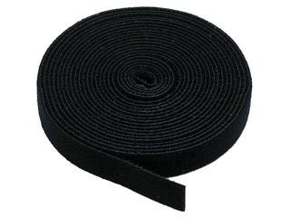 Product Image for Monoprice Hook and Loop Fastening Tape, 5 yards/roll, 0.75 in, Black