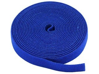 Product Image for Hook & Loop Fastening Tape 5 yard/roll, 0.75-inch  - Blue