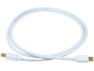 Product Image for 3ft 32AWG Mini DisplayPort Cable - White
