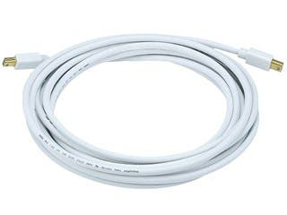 Product Image for 15ft 32AWG Mini DisplayPort Cable - White