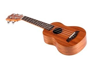 Product Image for Monoprice Idyllwild Sapele Soprano Ukulele with Gig Bag