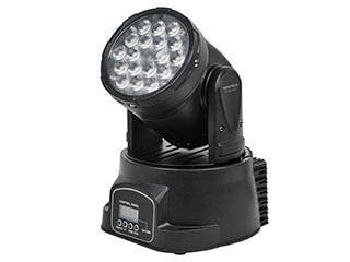 Product Image for Stage Right by Monoprice 3-Color LED Moving Head Stage Light