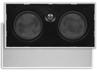 Product Image for Monoprice Aria In-Wall Speaker Center Channel Dual 5.25in 2-Way (single)