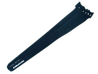 Product Image for Hook & Loop Fastening Cable Ties, 13-inch, 50pcs/pack, Black