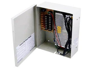 Product Image for Monoprice 8 Channel CCTV Camera Power Supply - 12VDC - 13Amps