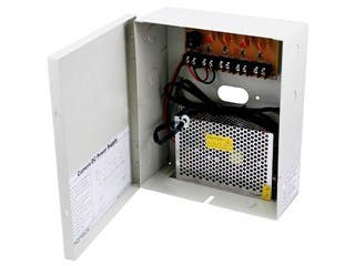 Product Image for Monoprice 4 Channel CCTV Camera Power Supply - 12VDC - 5 Amps