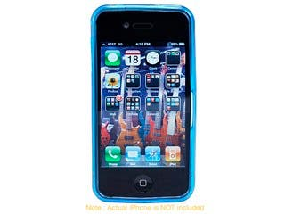 Product Image for TPU Case for AT&T iPhone® 4 - Blue