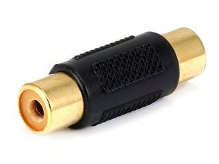 Product Image for RCA Jack to Jack Adapter - Gold Plated