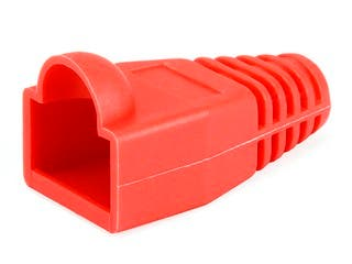 Product Image for RJ45 Strain Relief Boots, 50 pcs/pack, Red