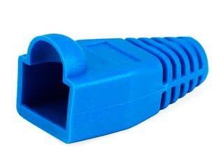 Product Image for Monoprice RJ45 Strain Relief Boots, 50 pcs/pack, Blue