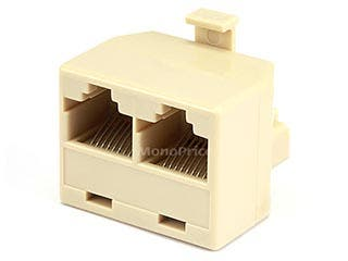 Product Image for T Adapter 8P8C - 1M/2F