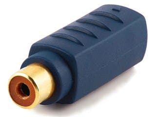 Product Image for S-Video Female to Composite RCA Female Video Adapter