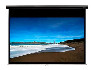 Product Image for 92-inch HD Slow-Retraction Manual Projection Screen 16:9