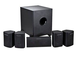 Product Image for 5.1 Channel Home Theater Satellite Speakers & Subwoofer  - Black