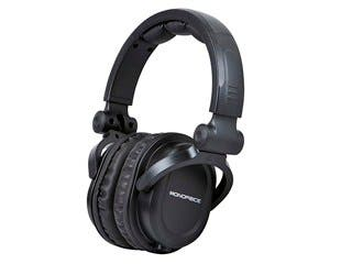 Product Image for Monoprice Premium Hi-Fi DJ Style Over-the-Ear Pro Headphones with Mic