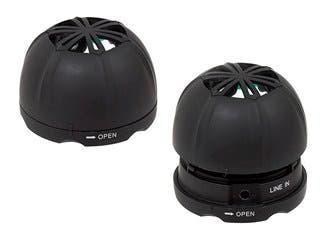 Product Image for Monoprice Mini Rechargeable Portable Speaker (Pair)