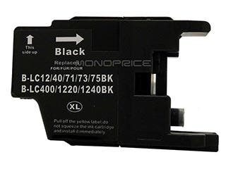 Product Image for Monoprice compatible Brother LC75BK inkjet- black (High Yield)
