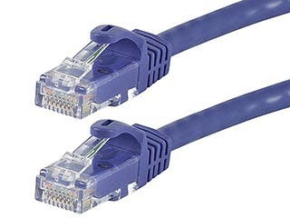 Product Image for FLEXboot Series Cat6 24AWG UTP Ethernet Network Patch Cable, 75ft Purple