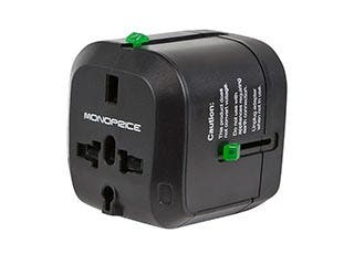 Product Image for Compact Cube Universal Travel Adapter - Black